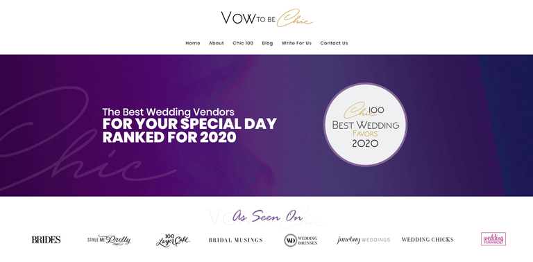 Vow To Be Chic