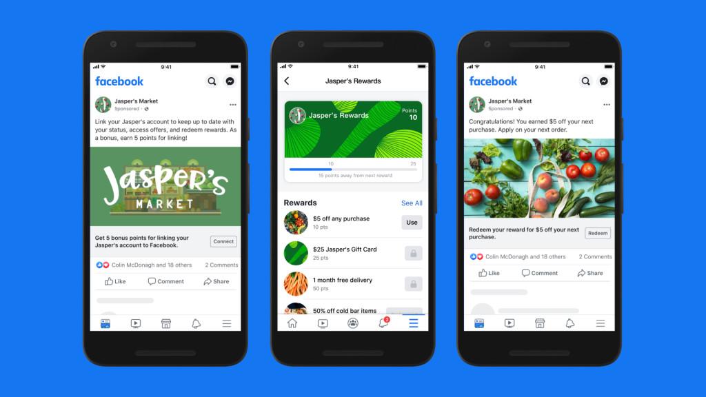 Facebook Shops Facilitating Sales