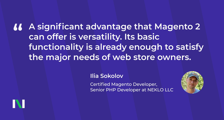 certified Magento developers, PHP developer, ecommerce website development